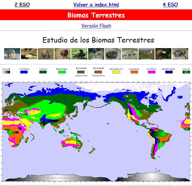 Enlace a Biomas (Versión renovada)