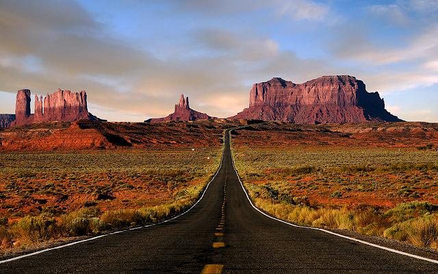 A viagem de Las Vegas até a borda Sul do Grand Canyon