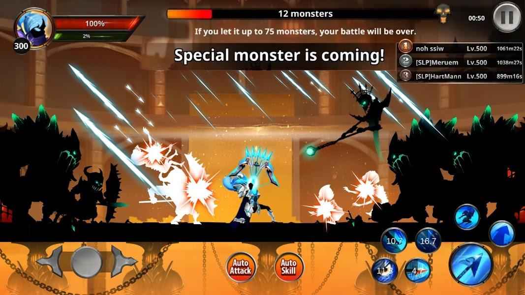 Stickman Legends: Shadow War Offline Fighting Game Screenshot 02