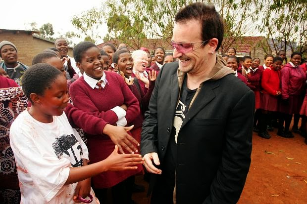 U2's songs written about Africa and its people - U2's Song