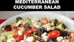 #The #World's #most #delicious #Mediterranean #Cucumber #Salad