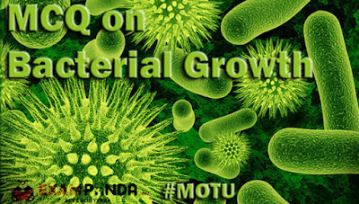bacterial growth mcq