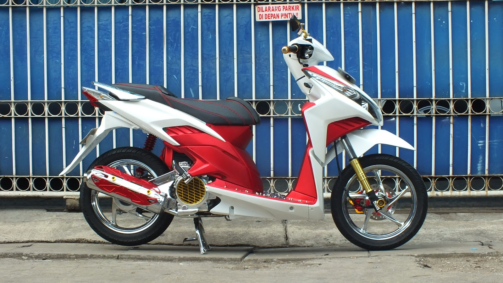 Oracle Modification Concept HONDA VARIO TECHNO 110 Modifikasi