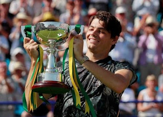 Fritz wins maiden ATP title in Eastbourne