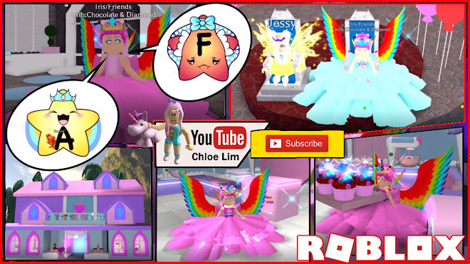 Chloe Tuber Roblox Royale High Gameplay Late For My New Baking
