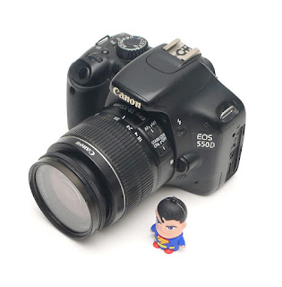 Kamera Bekas DSLR Canon Eos 550D