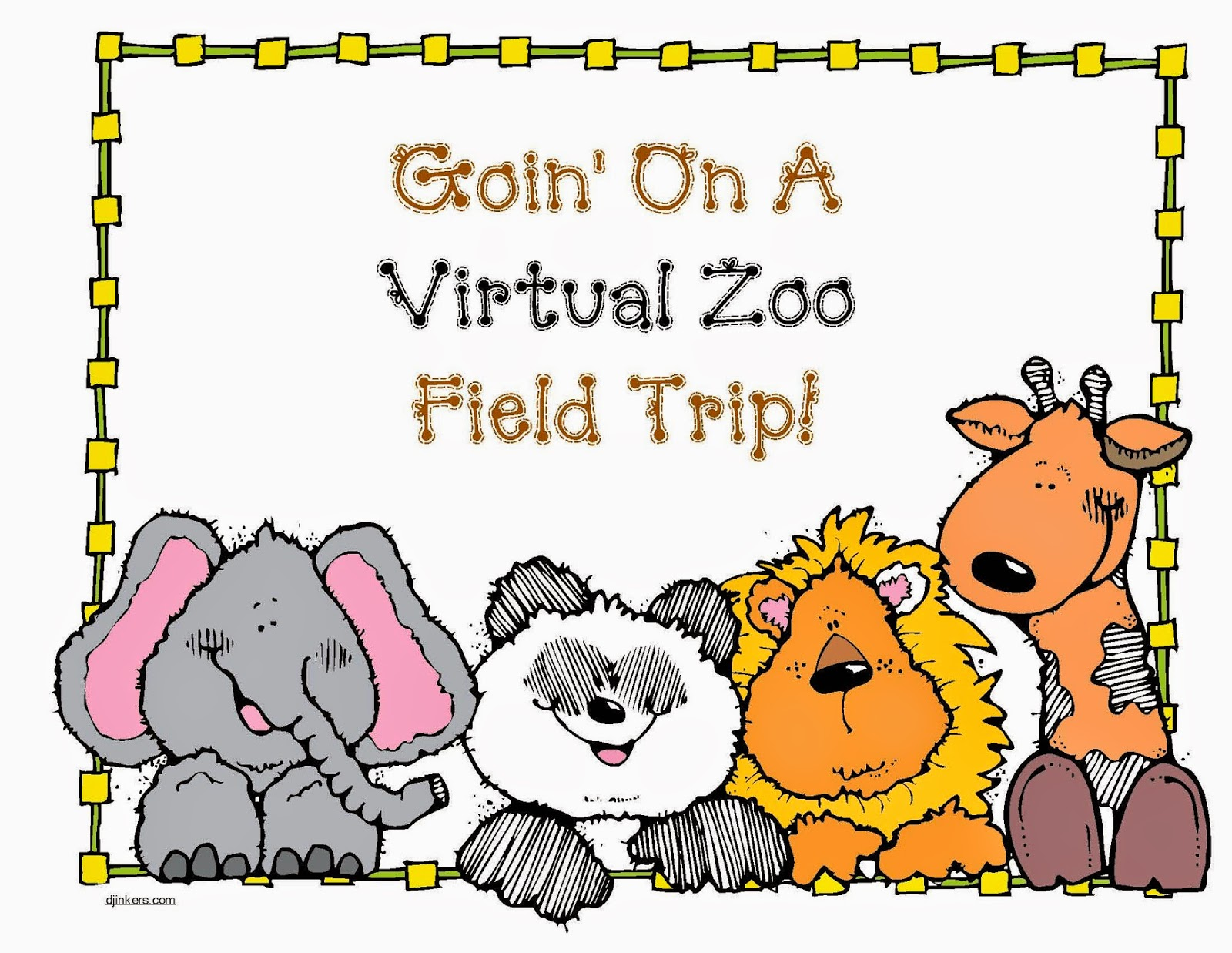 Classroom Freebies Goin On A Virtual Zoo Trip