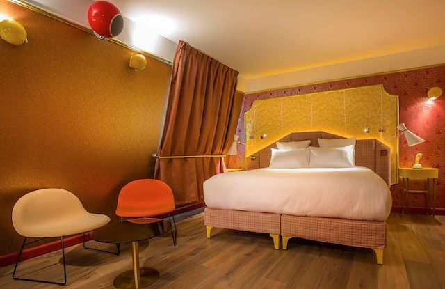 Idol Hotel em Paris - quarto