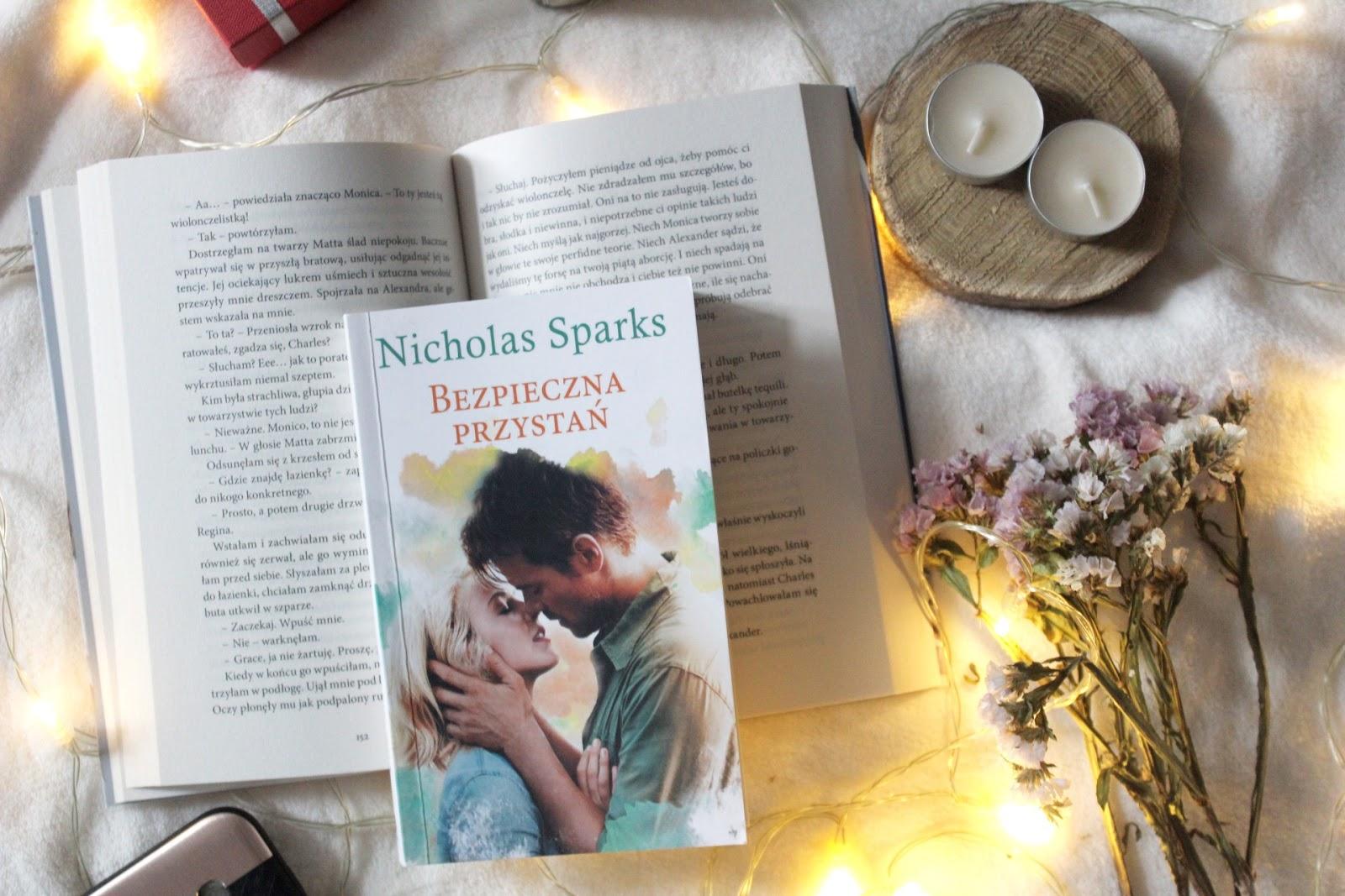 Bezpieczna Przystań, Nicholas Sparks. Ucieczka z koszmaru, damski bokser i nowa miłość.