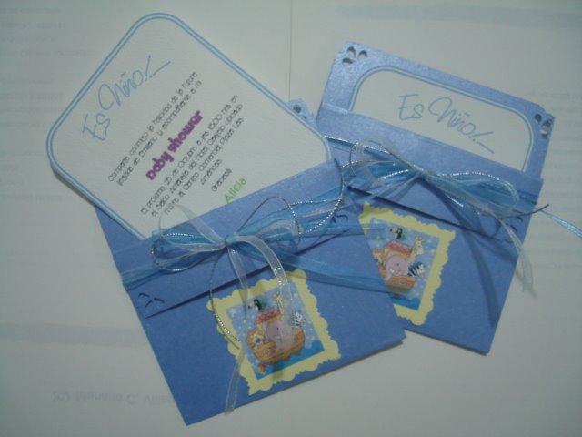 Tarjetas De Tarjetas De Invitación Para Baby Shower En Foami