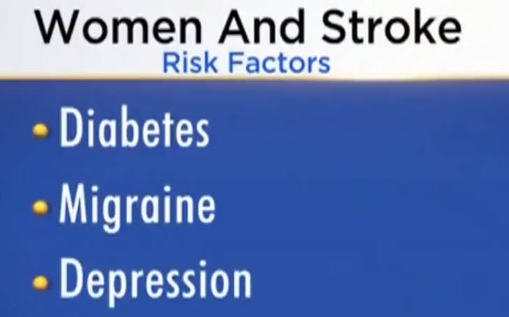 Women and stroke risk factors