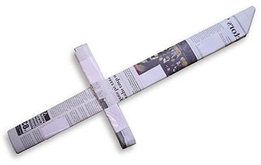 pedang 1 origami