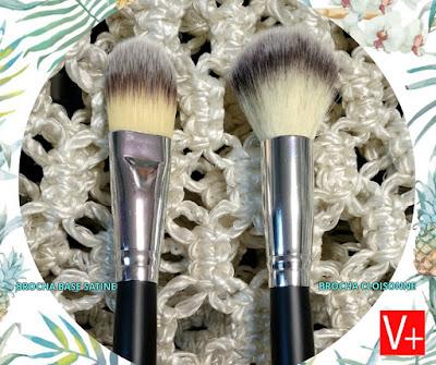 Brochas satiné y cloisonne ideales para el maquillaje mineral