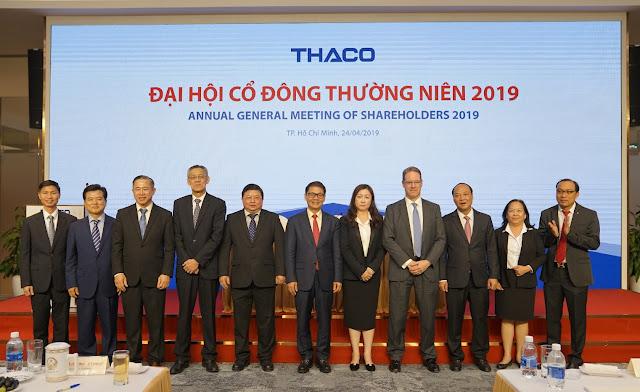 """Các thành viên HĐQT 2019 - những """"trụ cột"""" của Thaco trên con đường trở thành Thaco Group."""