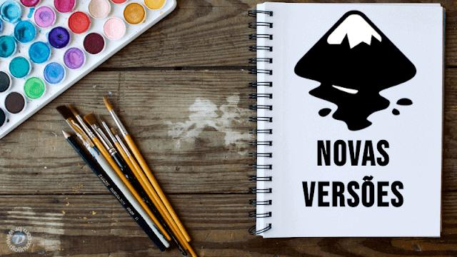 Lançada a versão estável 0.92.4 e primeiro Alpha do Inkscape 1.0