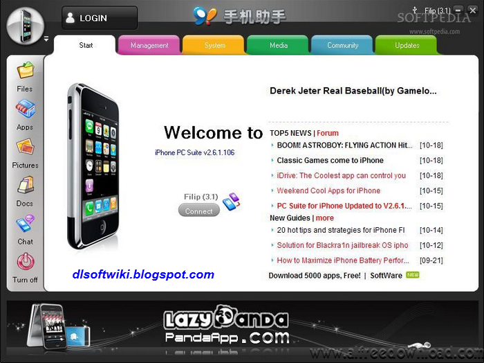 iphone pc suite free download