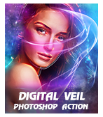 \ Digital 2BVeil - Concept Mix Photoshop Action