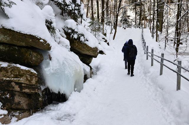 Droga do Wodospadu Szklarki