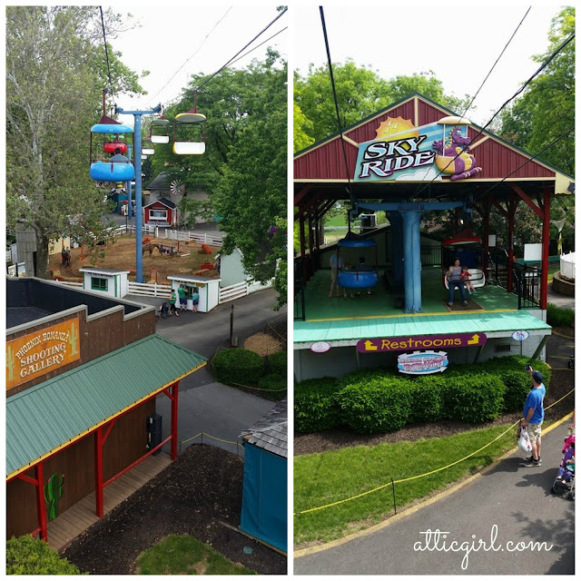 Dutch Wonderland sky ride