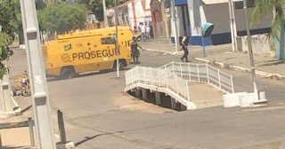 Criminosos e vigilantes trocam tiros em tentativa de assalto a carros-fortes entre a PB e RN
