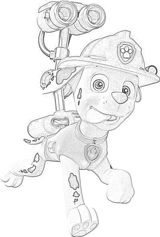 Coloring Pages Coloring Pages Paw Patrol Free And
