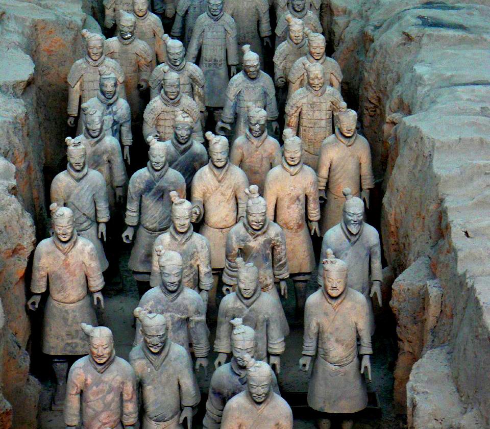 Qin Shi Huang'ın mezarı (Çin) ile ilgili görsel sonucu
