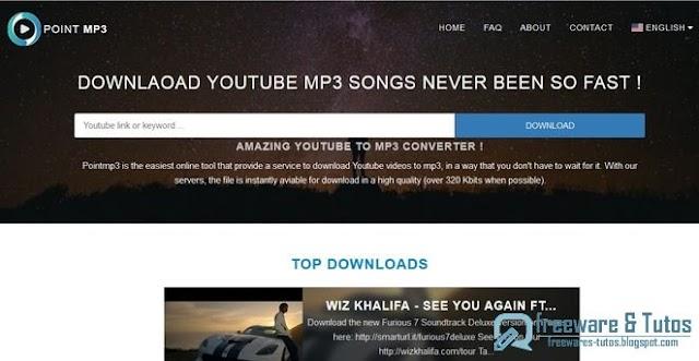 Point MP3 : un nouvel outil en ligne pour convertir les vidéos de Youtube en MP3