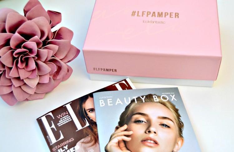 La caja de belleza #LFPAMPER de Lookfantastic
