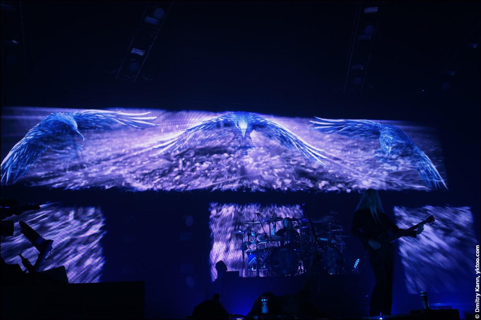 Nightwish: экран-задник.