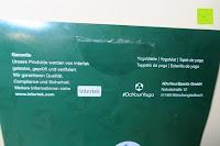 Garantie: Yogamatte aus natürlichen Gummi (Kautschuk) - »Rubin« 183x61x0,4cm - sehr rutschfeste Matte für Yoga : ideal für Yogalehrer & Yogastudios (Studio-Qualität). Erhältich in 6 Trendfarben : pink hellblau grün lila navyblau & schwarz. Exzellent geeignet für Yogaübungen (Asanas), Pilates & Gymnastik - die perfekte Fitnessmatte / Sportmatte dank innovativer Oberflächenstruktur - ökologisch korrekt hergestellt & REACH geprüft (keine Schadstoffe)