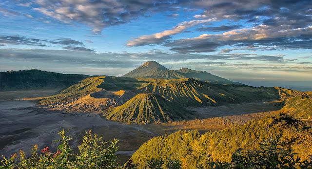 gunung bromo wisata alam hits malang jawa timur
