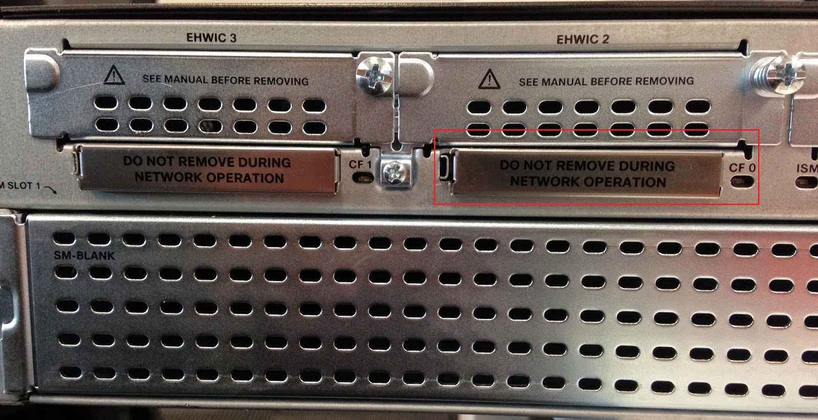 My network lab cisco 2900 password recovery via ejecting compact flash cf card