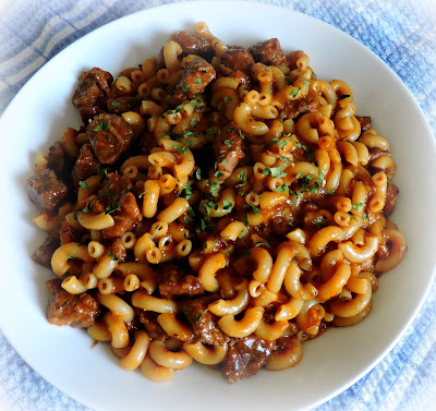 Stewed Steak & Macaroni