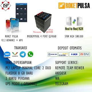 Paket Server Pulsa PPOB + APK Android Wilayah Palu, Makassar, Manado,Kendari, Gorontalo dan sekitarnya