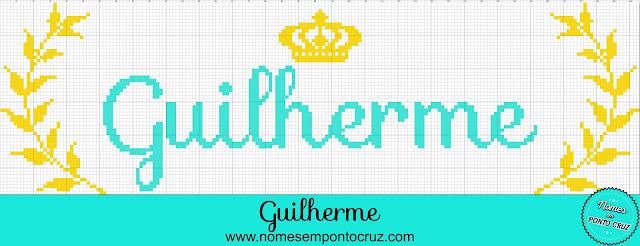 Gráfico do Nome Guilherme em Ponto Cruz