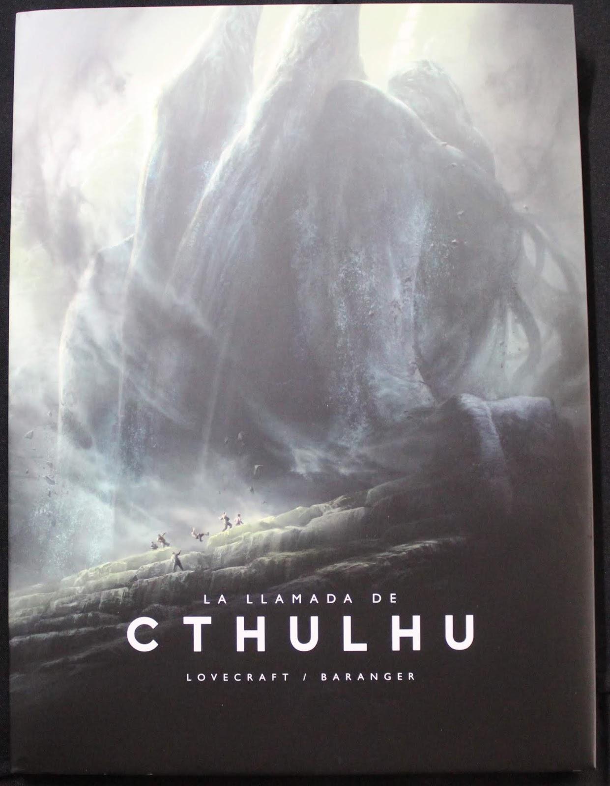 La llamada de Cthulhu ilustrada por François Baranger