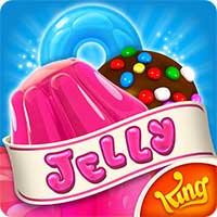 تحميل Candy Crush Jelly Saga مهكرة اصدار 2018