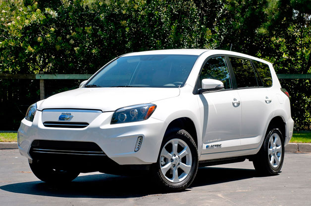 Toyota Adds S For Tesla Ed All Electric Rav4