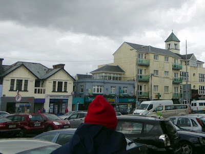 Walking around Galway, Ireland.