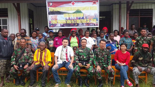 TNI Gelar Pengobatan Massal di Puncak Jaya Papua