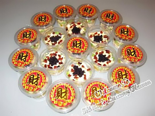 chinese new year caviar ba kwa party recipe