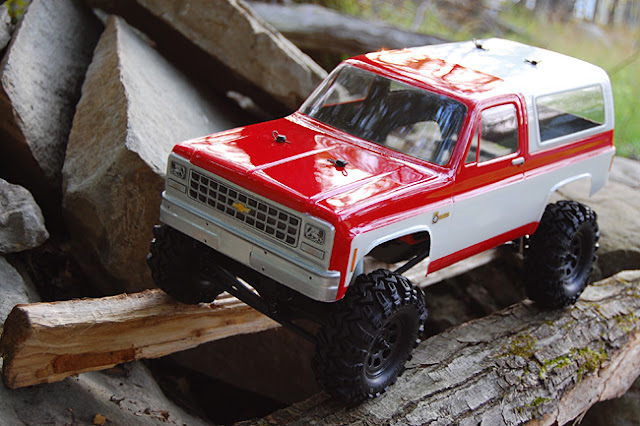Axial AX10 scale RC truck conversion