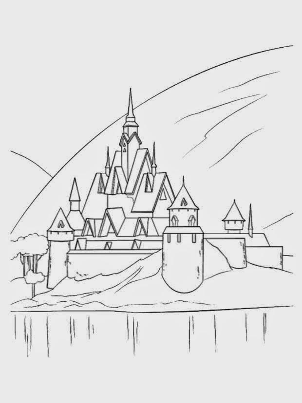 Bubuparty Planse De Colorat Regatul De Gheata Frozen