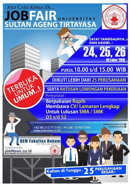Job fair Serang Banten