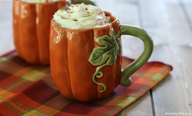 Pumpkin Spice Latte recipe from Served Up With Love