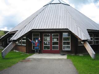 Knivsmedens værksted i Karajok