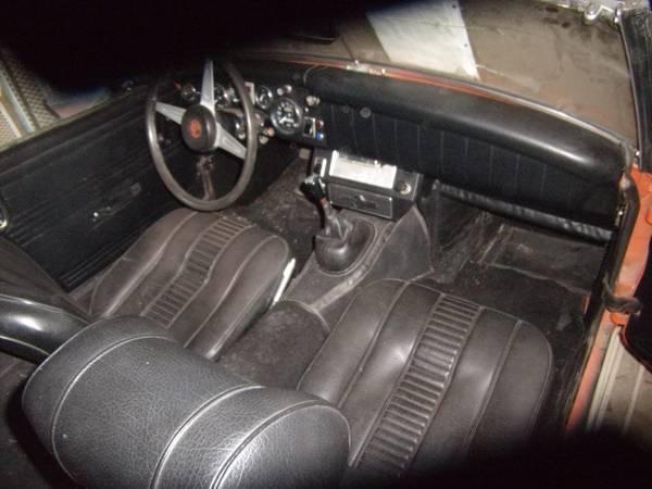 Original Owner 1974 MG Miget Roadster – $2700 (Marion