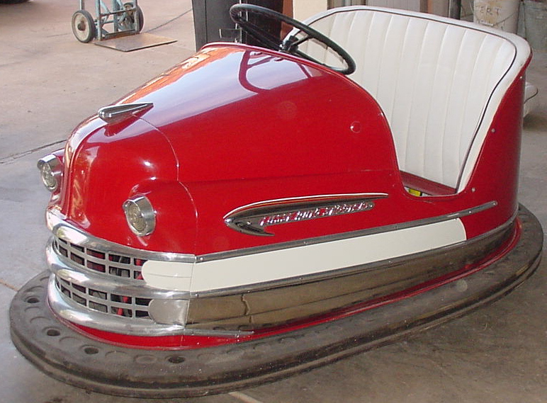 Just A Car Guy: Carnival Bumper Car Gallery From