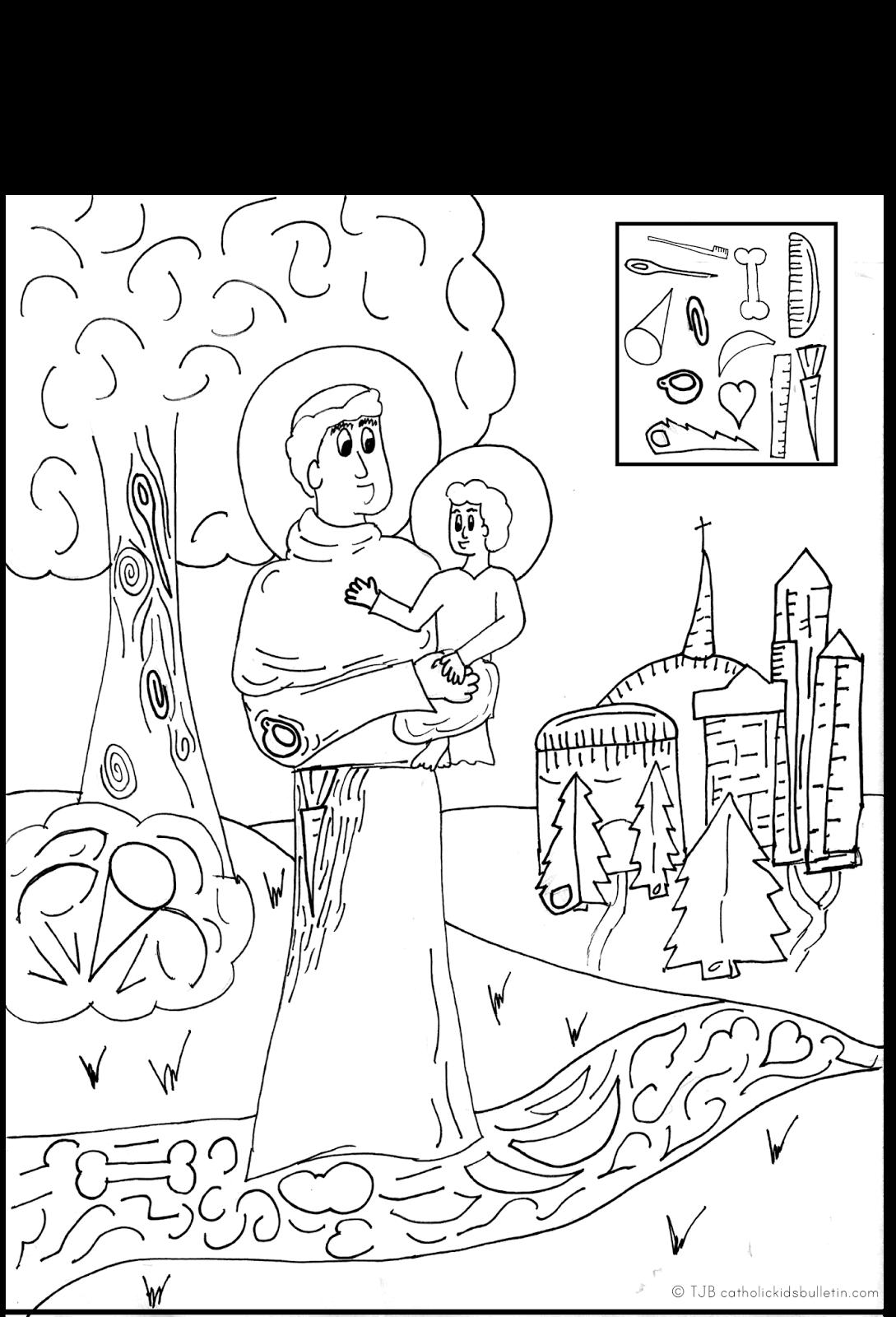 June Catholic Kids Bulletin