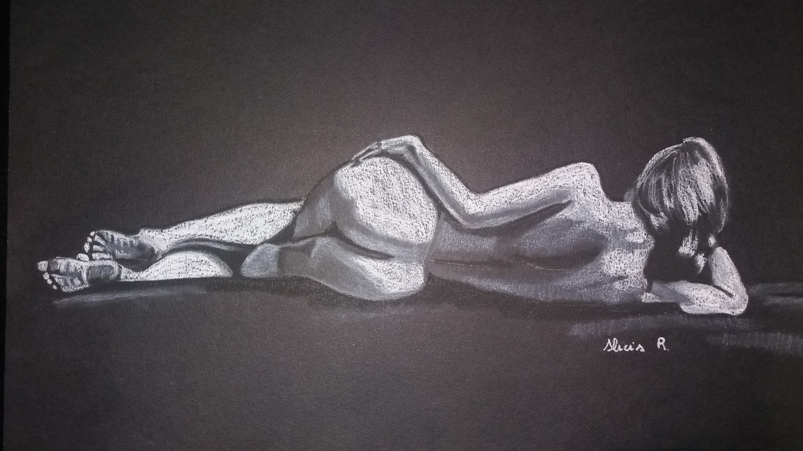 Blanco y negro mujer desnuda sexy pic 58